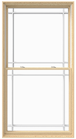 Lifestyle Double-Hung Wooden Windows